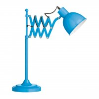 Blue Extendable Table Lamp