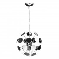 Disc Chrome Pendant Light