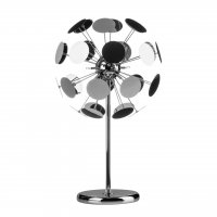 Disc Chrome Table Lamp