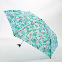 Eco Chic Mini Umbrella - Blue Flamingo