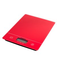 Sabichi 5kg Electronic Kitchen Scale Red