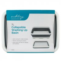 Ashley Housewares 7L Collapsible Washing Up Basin