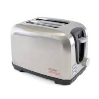 Lloytron Kitchen Perfected 2 Slice Toaster 700W - Brushed Steel