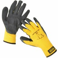Large Arctic Polar Extra Grip Work Gloves-Yellow
