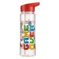 Puckator Water Bottle 500ml - Game Over