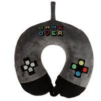 Puckator Resteazzz Game Over Plush Memory Foam Travel Pillow