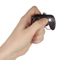 Puckator Game Over LED Keyring with Sound