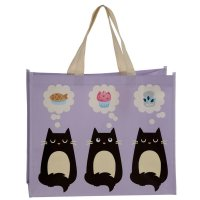 Puckator Feline Fine Cat Shopping Bag