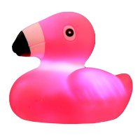 Puckator Flamingo Light Up Bath Time Toy