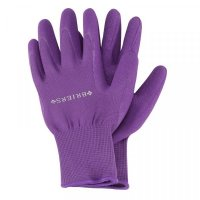 Briers Multi-Task Comfi Grips Purple Garden Gloves Medium