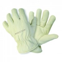 Briers Ultimate Lined Leather Small Cream Glove