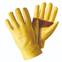Briers Ultimate Golden Leather Medium Gloves