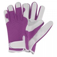 Briers Professional Smart Gardener Purple Medium Glove