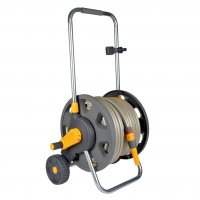 Hozelock Plus Assembled Hose Cart for 60M Hose with 30M Hose