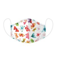 Butterfly House Reusable Face Cover Mask - Large