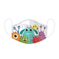 Monster Reusable Face Cover Mask-Small