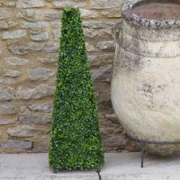 Artificial Topiary Boxwood Obelisk 60cm