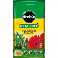 Miracle-Gro Premium Houseplant Potting Mix Peat Free 10lt
