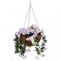 Easy Basket - Spring Bloom Artificial Hanging Basket