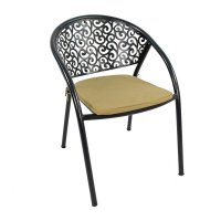 Exclusive Garden Florence Chairs with Cushion (Set of 2)