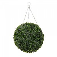 Faux Boxwood Topiary Ball 30cm