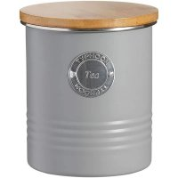 Typhoon Living Grey Tea Storage Canister