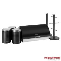 Morphy Richards 6 Piece Storage Set Black