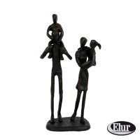 Elur Family 4 Outing Iron Figurine 21cm Mocha