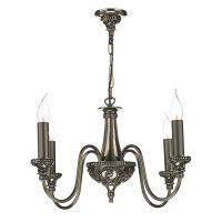 David Hunt Bailey 4 Light Chandelier in Bronze