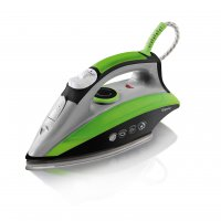 Elgento 2200w Steam Iron Green / Black