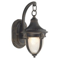 Dar Richmond Small Wall Bracket Black Gold