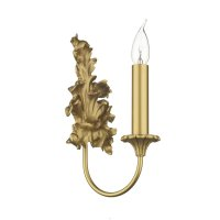 David Hunt Ormolu Single Wall Bracket Gold