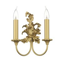 David Hunt Ormolu Double Wall Bracket
