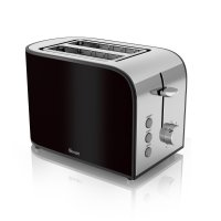 Swan 2 Slice Toaster Black