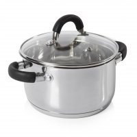 Tower Casserole Pan Stainless Steel 24cm