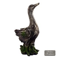 Solstice Sculptures Duck 50cm Driftwood Effect
