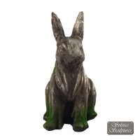Solstice Sculptures Rabbit 33cm Driftwood Effect
