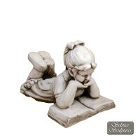 Solstice Sculptures Ellen 34cm Antique Stone Effect