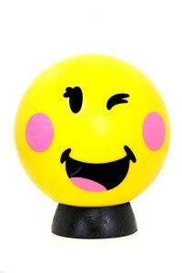 Smiley World LED Lamp - Cheeky Wink