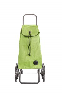 Rolser 6 Wheeler 'RD6' Stair Climber Trolley in Lime
