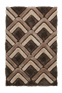 Think Rugs Noble House NH8199 Brown - Various Sizes