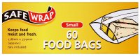 Safe Wrap Food Bags Small Pack of 60