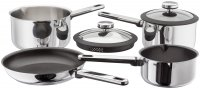 Stellar Stay Cool 4 Piece Draining Saucepan Set