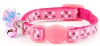 Ancol Luxury Kitten Stars Collar Pink