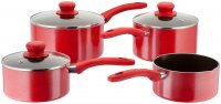 Judge Radiant 4 Piece Saucepan Set
