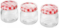 Judge Kitchen Preserving Jars 250ml (Set of 3)