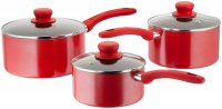 Judge Radiant 3 Piece Saucepan Set