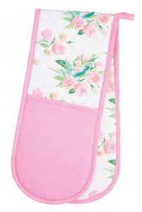 KitchenCraft Rose Double Oven Glove 87cm x 19cm