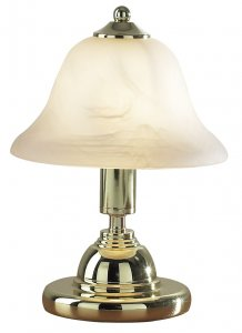 Dar Gloucester Touch Table Lamp Polished Brass
