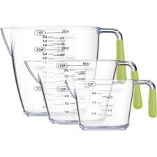Colourworks Brights 3 piece Measuring Jug Set (200ml/400ml/900ml) Green